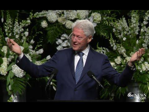 Muhammad Ali Funeral | Bill Clinton's...