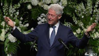 Muhammad Ali Funeral   Bill Clinton