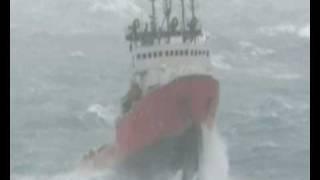 bad weather! huge waves!