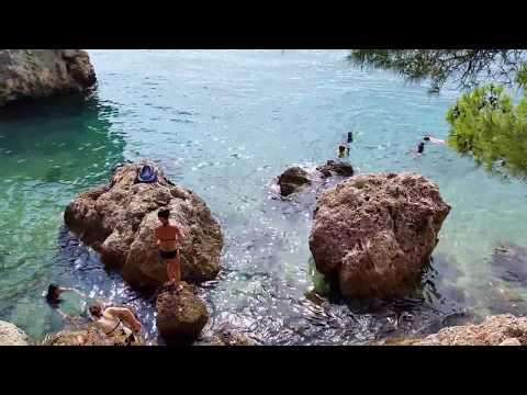 Tourist destination - Brela - Plaža Punta Rata