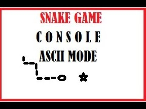 C Programming Simple Snake Game Console Mode 2D Array Switch Case