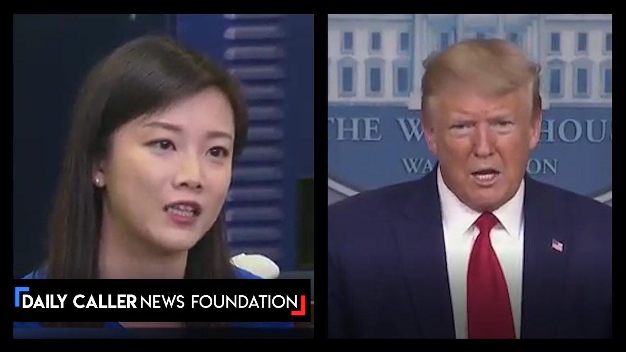 "Trump Questions Suspicious Reporter: ""Who Are You Working For, China?"""