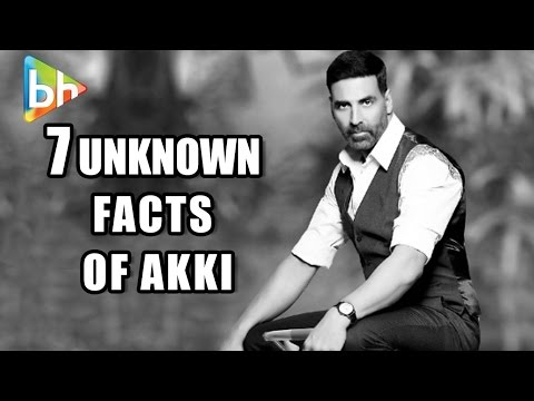 Akshay Kumar Birthday Special 2016 | Top 7 Unknown Facts Of Bollywood's Action Hero Khiladi Kumar