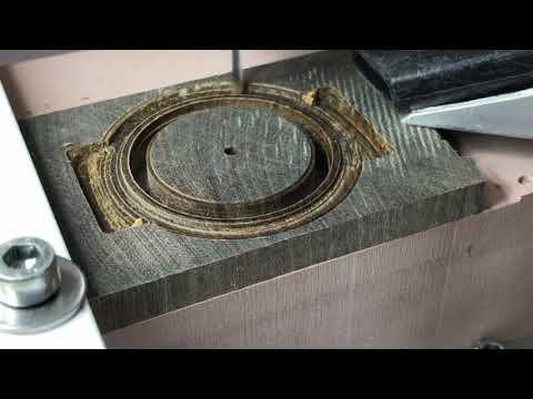 Wooden wrist watch project #1: case