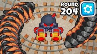 Can You Beat Round 204 With 2 Towers?