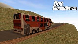 Susahnya Bus Tingkat Melewati Jalan Pegunungan | Game Simulator Android