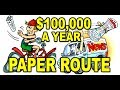 Newspaper Route Business! $100K+ Incomes!