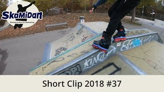 Practicing Any Grinds In A Line — Short Clip 2018#37