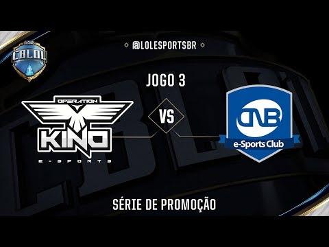 OPK x CNB (Jogo 3 - Série de Promoção - Dia 2) - CBLoL 2017