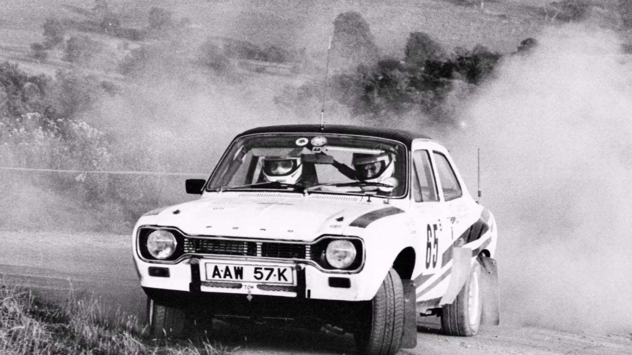 My old Ford Escort MK1 rally car Pictures set to music. - YouTube