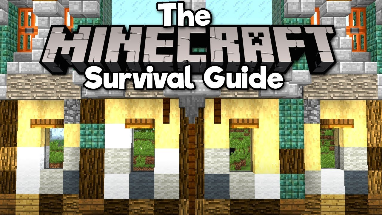 Starting A City Build! ▫ The Minecraft Survival Guide (Tutorial Lets Play) [Part 55]