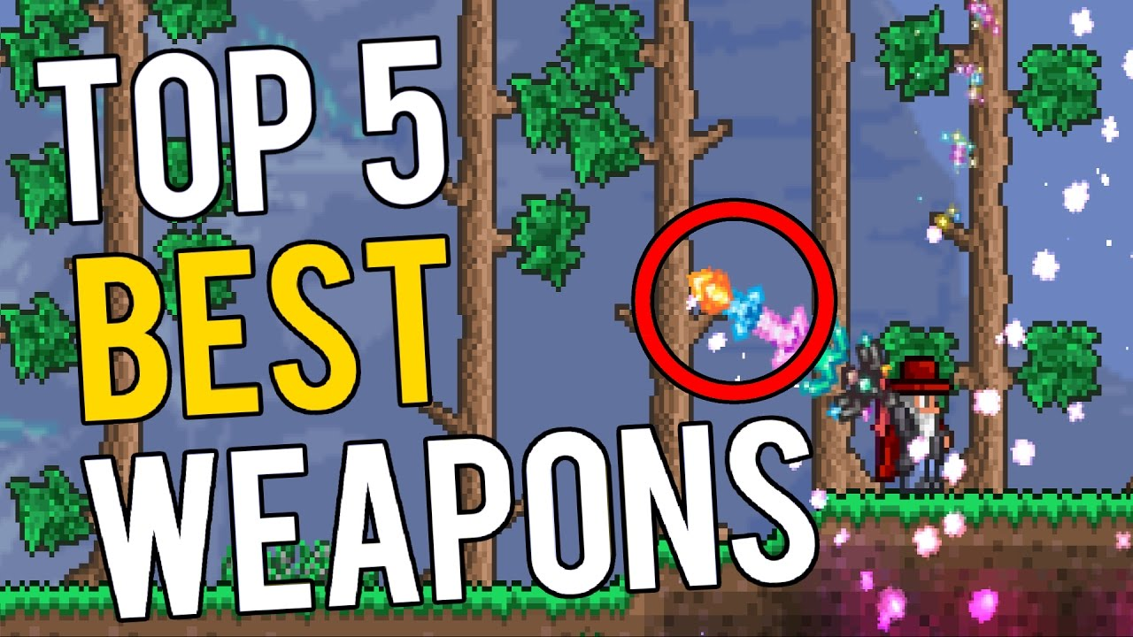 Top 5 Best Weapons in the Calamity Mod - Terraria