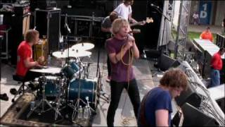Cage the Elephant LIVE @ Forecastle 2009:  Back Against The Wall