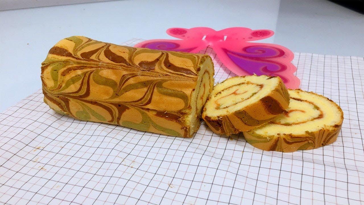Bánh Bông Lan cuộn/Roll cake Recipe [NẤU ĂN NGON]
