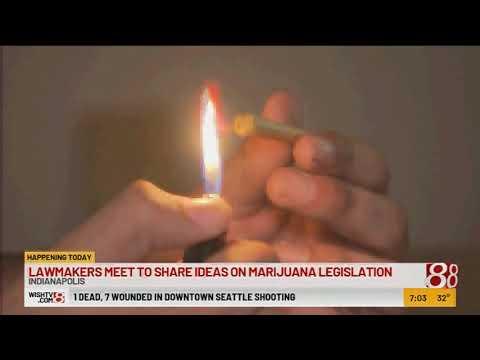 Legislators To Address Marijuana Laws In Indiana