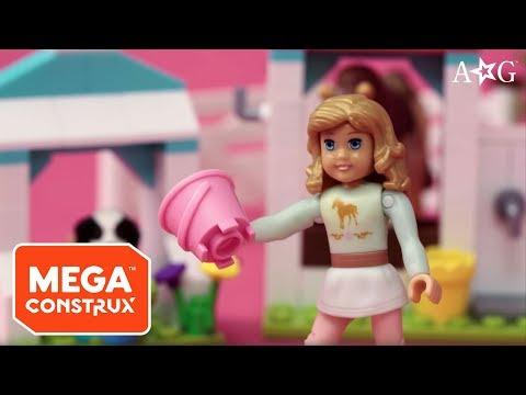 Nicki's Horse Stables: Snack Time Switcheroo | American Girl | Mega Construx