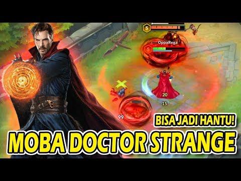 MOBA MARVEL DOCTOR STRANGE BISA HEAL LORD MANTAP SEKALI, MATI JADI HANTU! - 동영상