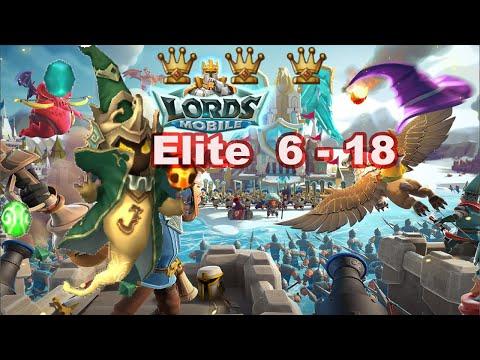 Lords Mobile 6 - 18 Elite 3 Stars