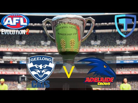 AFL Evolution 2 - Grand Final - (Legend Difficulty) - Geelong VS Adelaide