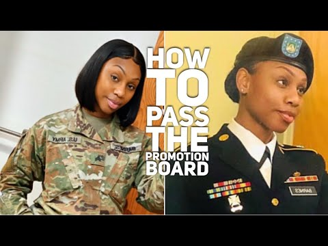 How To Pass The Promotion Board