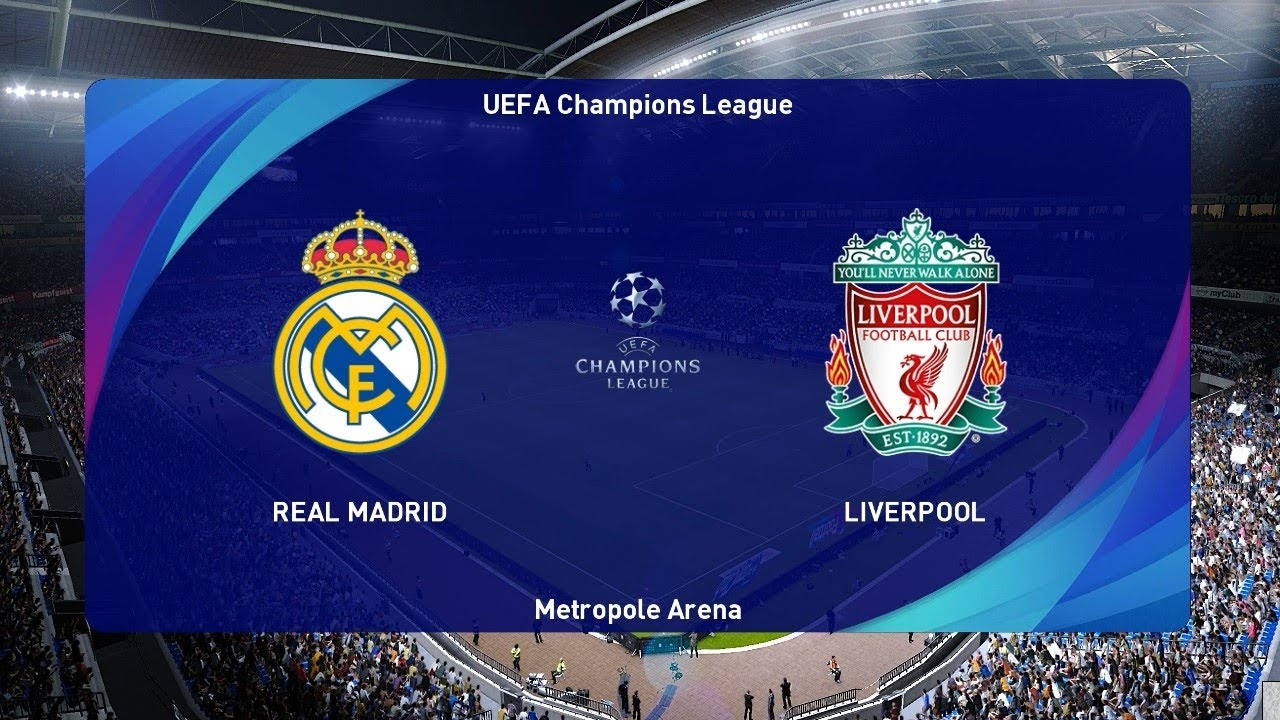 Real Madrid vs Liverpool | UEFA Champions League 2020 | PES 2021 Gameplay  PC - YouTube