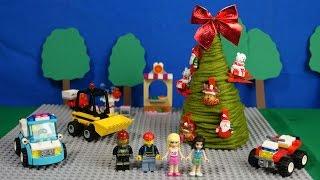 Новый год в Лего сити. Наряжаем елку вместе с конструктором Лего! Видео для детей.(Скоро Новый год, и даже с конструктором Лего можно украшать елку! Елочку можно сделать своими руками. А с..., 2015-12-23T09:50:33.000Z)