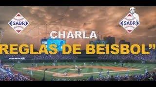 Conferencia de jugadas, reglas y anotaciones del Béisbol con Gil Reyes