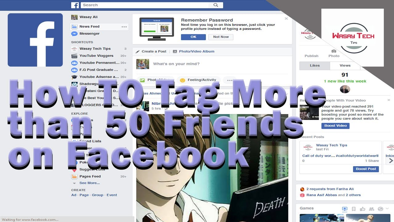 how to tag more than 50 friends on facebook