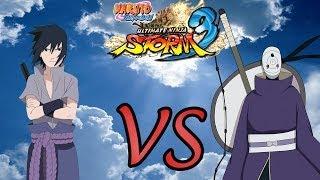 Naruto Shippuden: Ultimate Ninja Storm 3: Sasuke vs Tobi Rinegan - Gameplay lets play