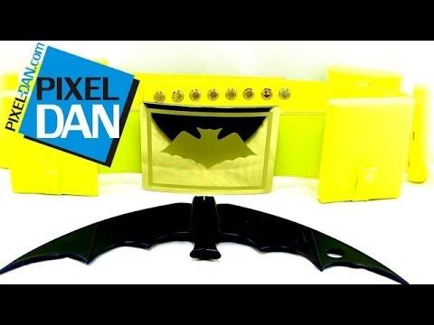 Batman Classic TV Series Utility Belt Batarang DC Comics Prop Replica Mattel