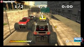 Monster Trucks Mayhem / Nintendo Wii Truck Race Games / Gameplay