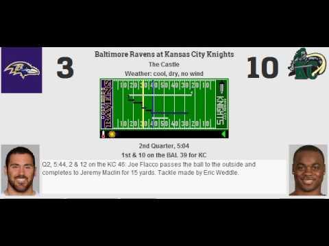Week 9: Baltimore Ravens (2-6) @ Kansas City Knights (2-6)