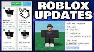Roblox updates you might not have noticed!?
