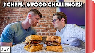2 CHEFS. 6 FOOD CHALLENGES! | Game Changers