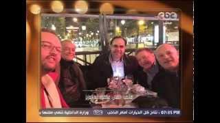 محمود عبد العزيز يبكي مع منى الشاذلي: ربنا يقوينا ويقوي السيسي (فيديو)