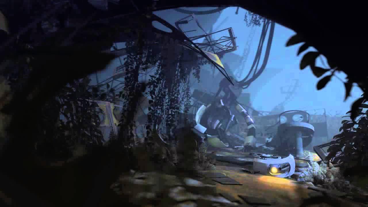 Dreamscene Portal 2 Glados Main Menu Background Youtube