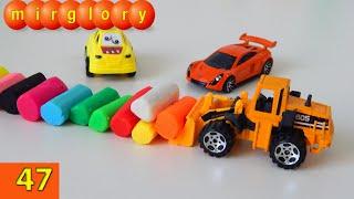Машинки мультфильм - Учим цвета, пластилин - Город машинок - 47 серия. Развивающие мультики mirglory(, 2015-05-18T22:11:39.000Z)