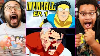 INVINCIBLE IS INSANE! Episode 1 - REACTION!! (1x01 Ending | Review | Breakdown | It's About Time)