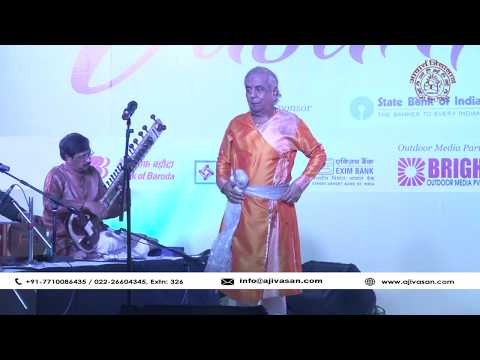 Zakir Husain | Birju Maharaj | Jugalbandi Performance | Vasantotsav 2017 | Ajivasan