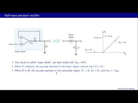 Lecture 46 Introduction to Precision rectifiers 1