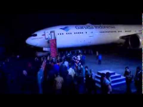 Garuda Indonesia Boeing 777 Launching