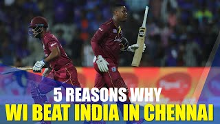 Hetmyer, Hope setup record West Indies chase | India v WI, 1st ODI review
