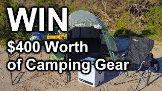 Win $400 of Camping Gear!