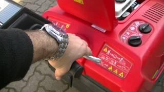 Kehrmaschine Portatecnica m. Honda Motor