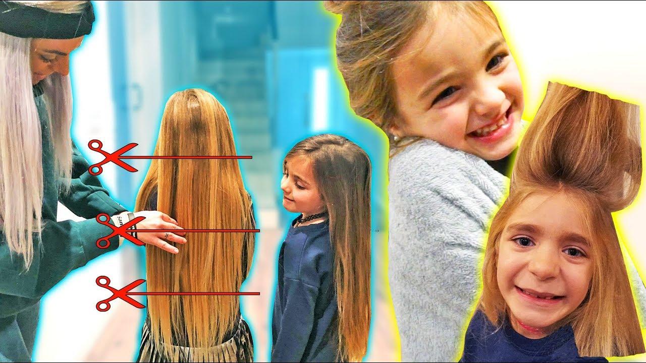 Primer corte de pelo en ingles