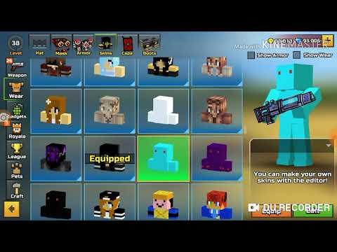 Pixel Gun 3D Amazing Modded Skins
