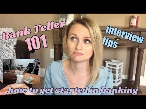 Bank Teller Interview Tips!  What To Expect! - YouTube