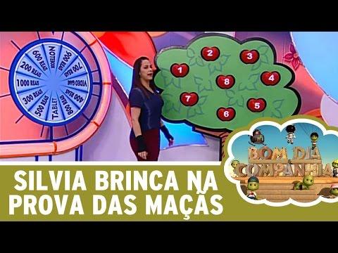 Bom Dia e Cia (13/06/16) - Silvia Abravanel brinca na Prova das Maçãs