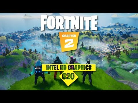 Fortnite Chapter 2 L Intel HD Graphics L Gameplay