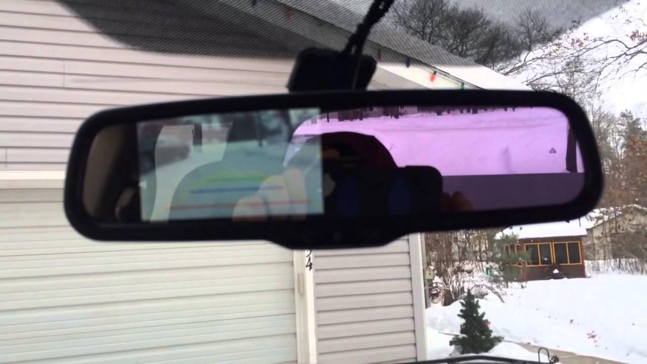 Backup Camera On A Dodge Youtube